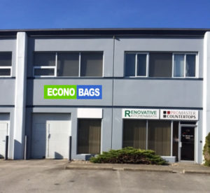 Econo Bags warehouse manufacturing plant