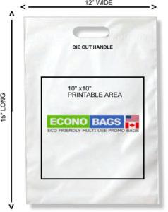 12 x 15 bottom seal econo bag