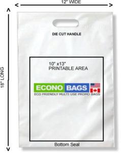 12 x 18 bottom seal econo bag