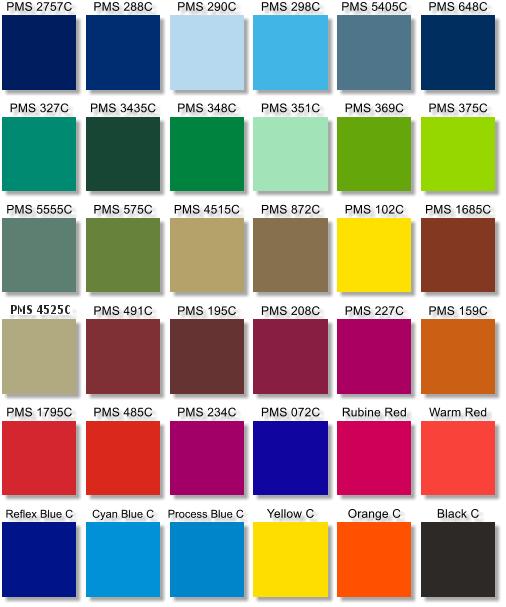 Color Chart Images Fix1 Econo Bags Plastic Bags Plastic